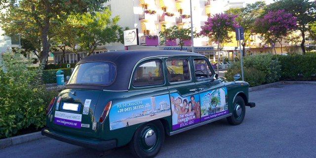 taxi inglese hotel germania